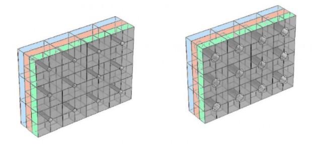 air transparent soundproof window diagram