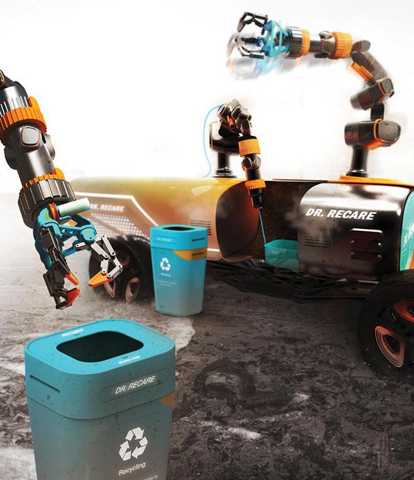 dr recare 3d printing robot 2