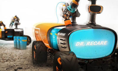dr recare 3d printing robot