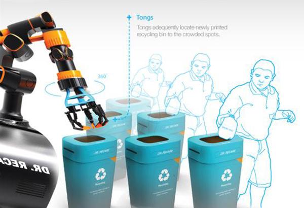 dr recare 3d printing robot 5