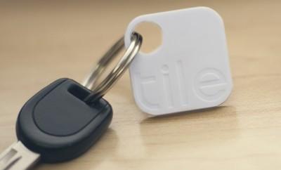 tile with car key
