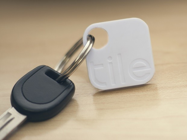 tile with car key